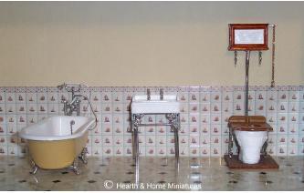 Miniature Victorian Canopy Bath Suite VICBST Image